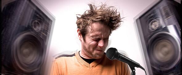 Cách chỉnh micro GAE Pro không bị hú, rít khi hát karaoke